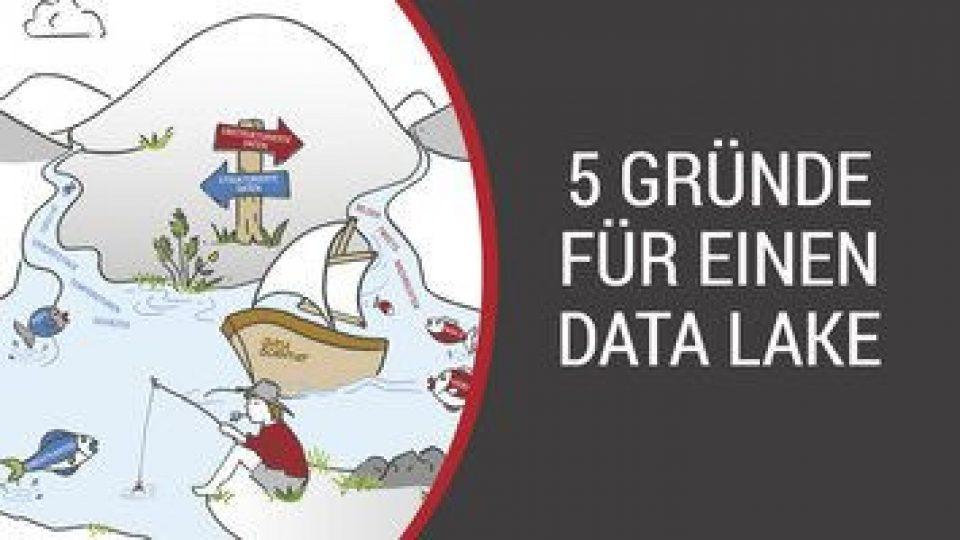 5 gute Gründe, die für einen Data Lake sprechen