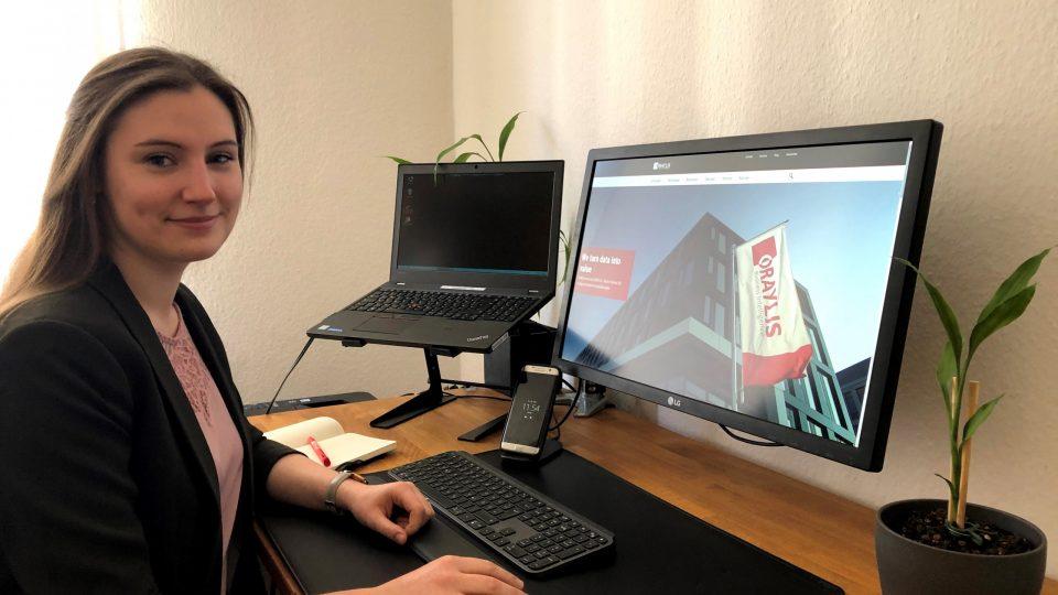 Arbeiten in der Welt der Daten – Teresa über ihr erstes Projekt bei ORAYLIS