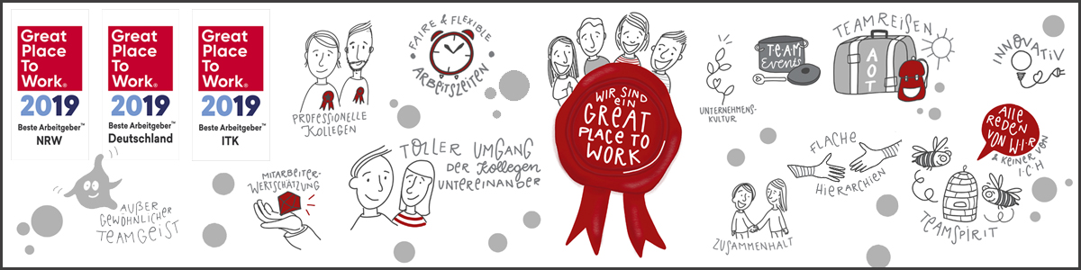 Wir sind ein Great Place to Work