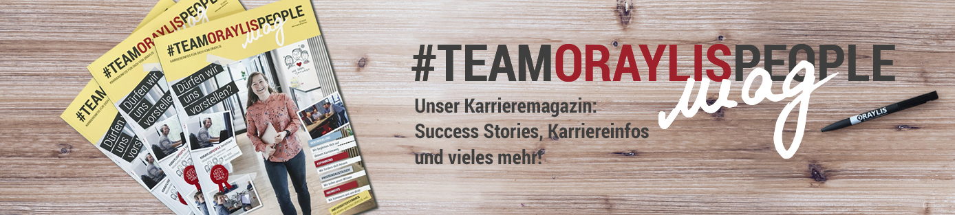 #TEAMORAYLISPEOPLE mag Banner