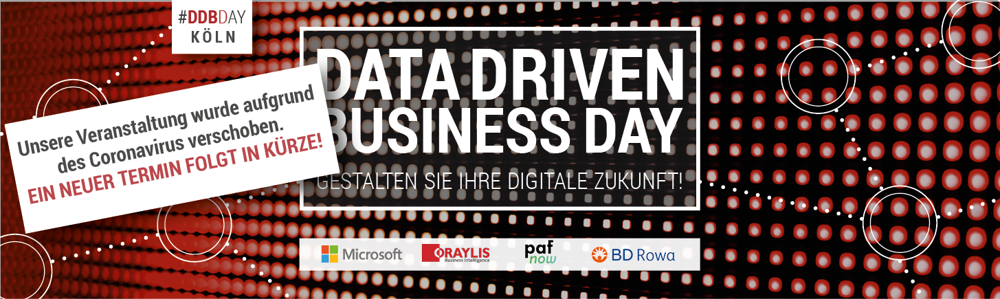 Data Driven Business Day Störer