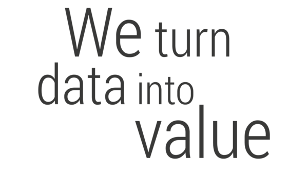 We turn data into value