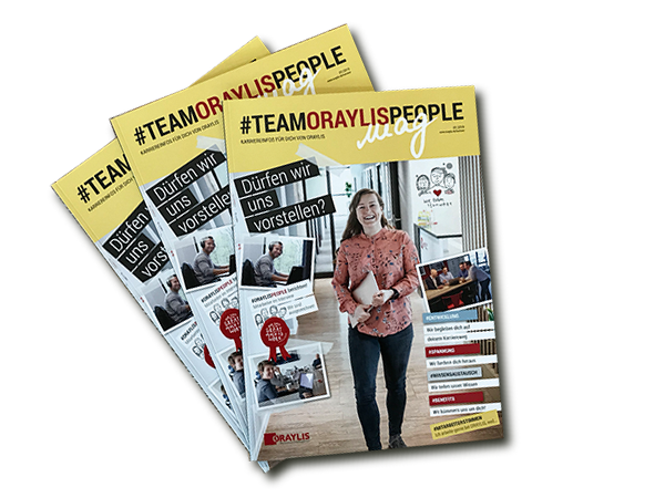 #TEAMORAYLISPEOPLE mag