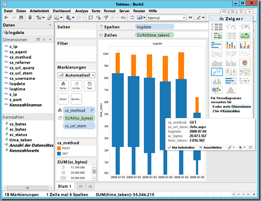 Connect Tableau with HDInsight – Microsofts Hadoop Distribution ...