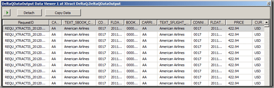Importing data from SAP using the SAP BW Delta Queue and