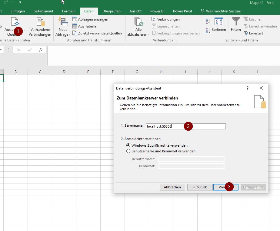 Connect Excel Pivot to a Power BI Desktop | ORAYLIS