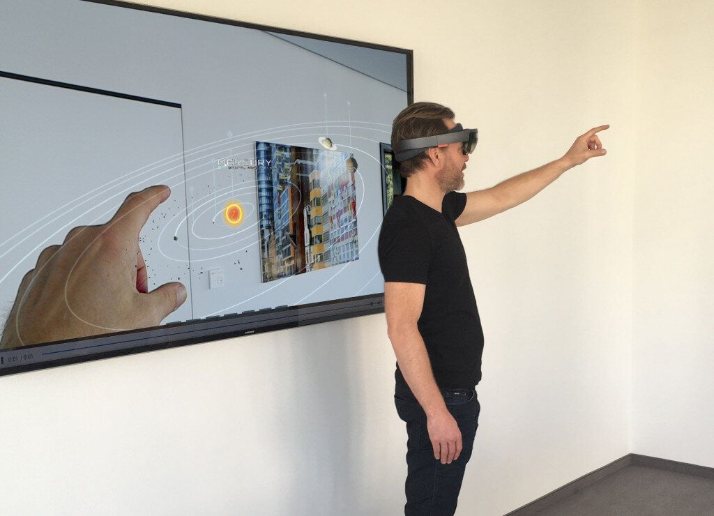 HoloLens in Aktion