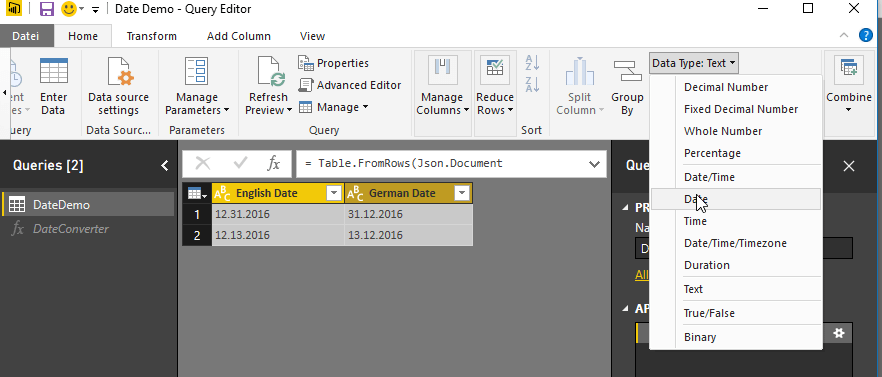 Local date formats in Power BI | ORAYLIS