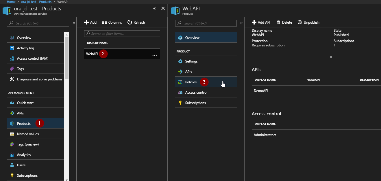 Call Limit beim Azure API Management einrichten