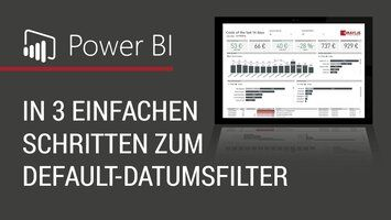 Default Datumsfilter in Power BI