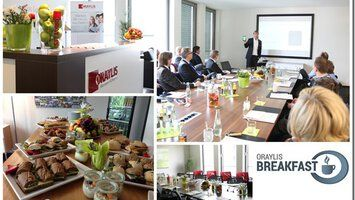 Neues Business Breakfast der ORAYLIS GmbH: Von BI zu Big Data.